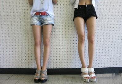 正常女生腿型_日本留学 日本女生为何多O型腿? - 日本留学网