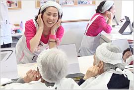 日本人的化妆术前后